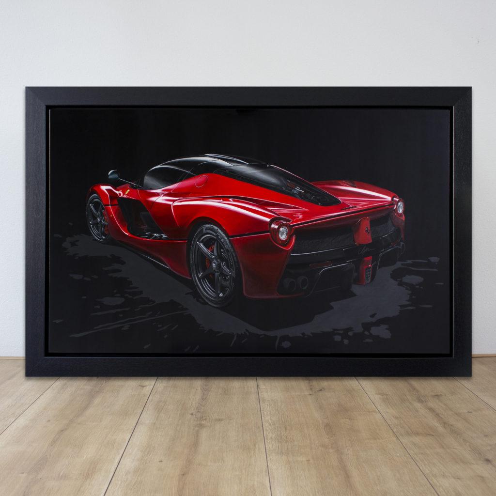 Ferrari Laferrari 2017 Custommade Automotive Art By Brigitt Reuver